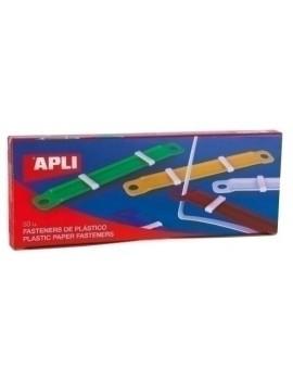 FASTENER APLI PLASTICO C/50
