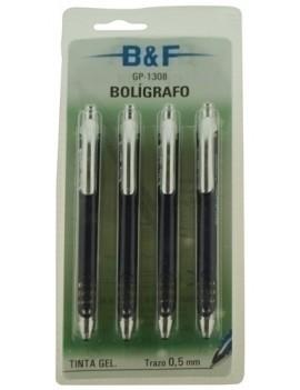 BOLIGRAFO B&F GEL RETRACTIL