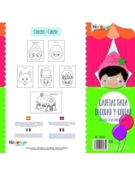 CARETA CART. 300gr. CAPERUCITA PACK 6