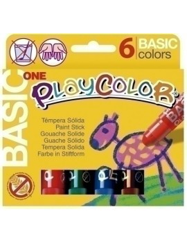 TEMPERA PLAYCOLOR ONE C/6