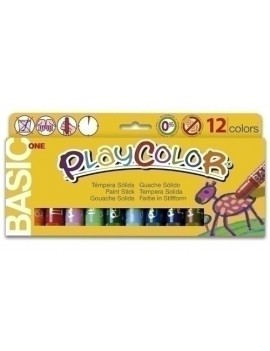 TEMPERA PLAYCOLOR ONE C/12