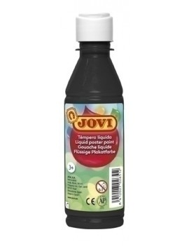 TEMPERA JOVI LIQ. 250 ml NEGRO