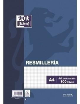 PAPEL OXFORD A4 100h CD.4 AZUL