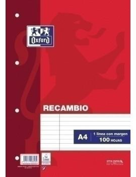 RECAMBIO OXF. A4 100h 4...