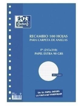 RECAMBIO OXF. Fº 100H 16...