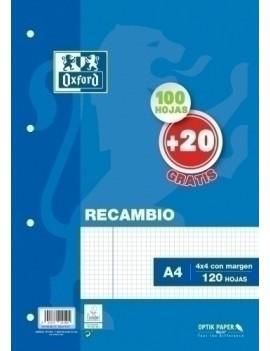 RECAMBIO OXF. A4 120h 4...