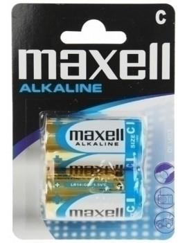 PILAS ALCALINA MAXELL LR14 B/2