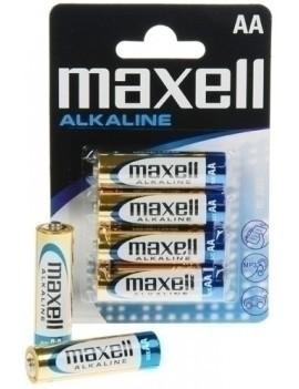 PILAS ALCALINA MAXELL LR06 B/4