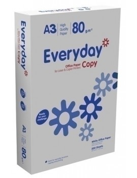 PAPEL A3 EVERYDAY COPY 80g...