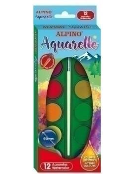 ACUARELAS ALPINO ESTUCHE de