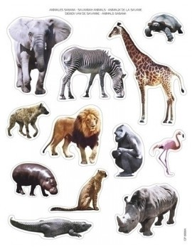GOMETS BOLSA 2h ANIMALES