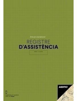 """CUADERNO PROFESSOR REGISTRE D""""ASSISTÈNCIA"""
