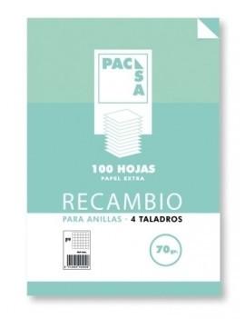 RECAMBIO PACSA A4 100h