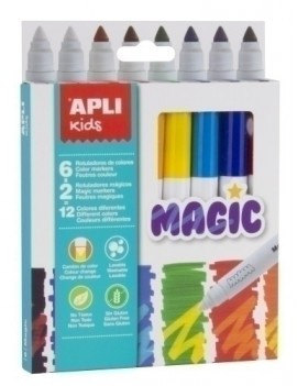 ROTULADOR APLI MAGIC ESTUCHE