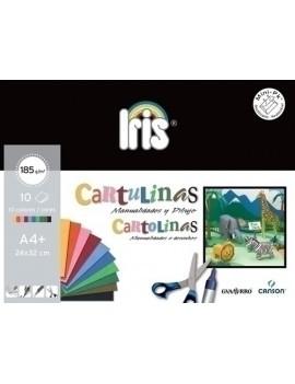 CARTULINA A4+ IRIS MINI
