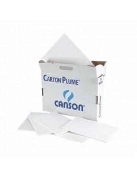 CARTON PLUMA CANSON BLANCO