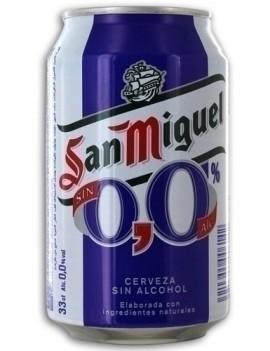 CERVEZA SAN MIGUEL S/ALCOHOL