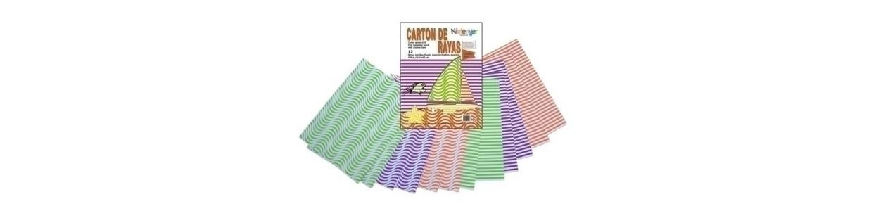 Cartulina impresa, manualidades y Papelería al mejor precio y Envio Gatis