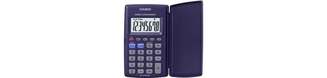 Calculadoras de bolsillo al mejor precio garantizado y Envio Gatis en 24h.
