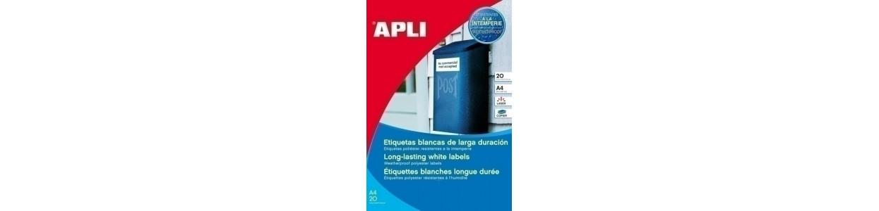 Etiquetas adhv. para impresora polyester al mejor precio garantizado y Envio Gatis en 24h.