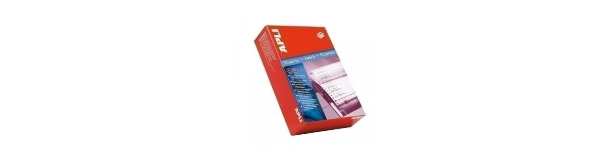 Etiquetas adhv. para impresora continuo al mejor precio garantizado y Envio Gatis en 24h.
