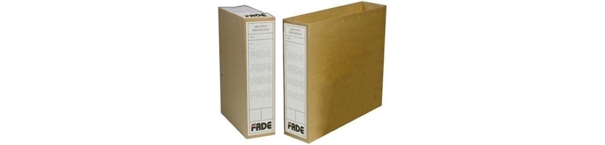 Archivo definitivo (cartón y PP) al mejor precio garantizado y Envio Gatis en 24h.