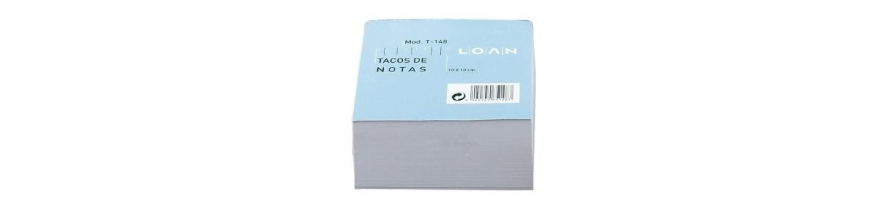 Taco de notas encolado al mejor precio garantizado y Envio Gatis en 24h.