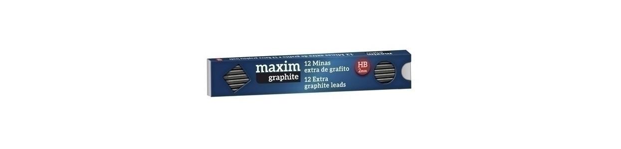 Minas de grafito al mejor precio garantizado y Envio Gatis en 24h.