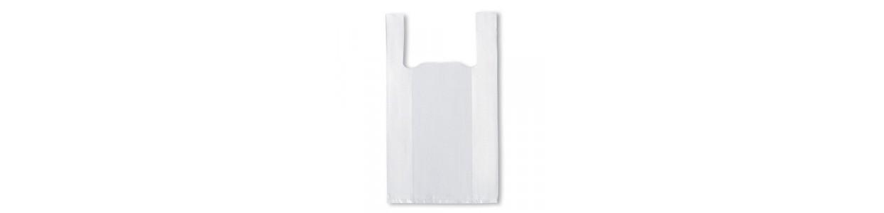 Bolsas plásticas blancas al mejor precio garantizado y Envio Gatis en 24h.