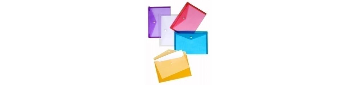 Dossiers sobre y bolsas cremallera al mejor precio garantizado y Envio Gatis en 24h.